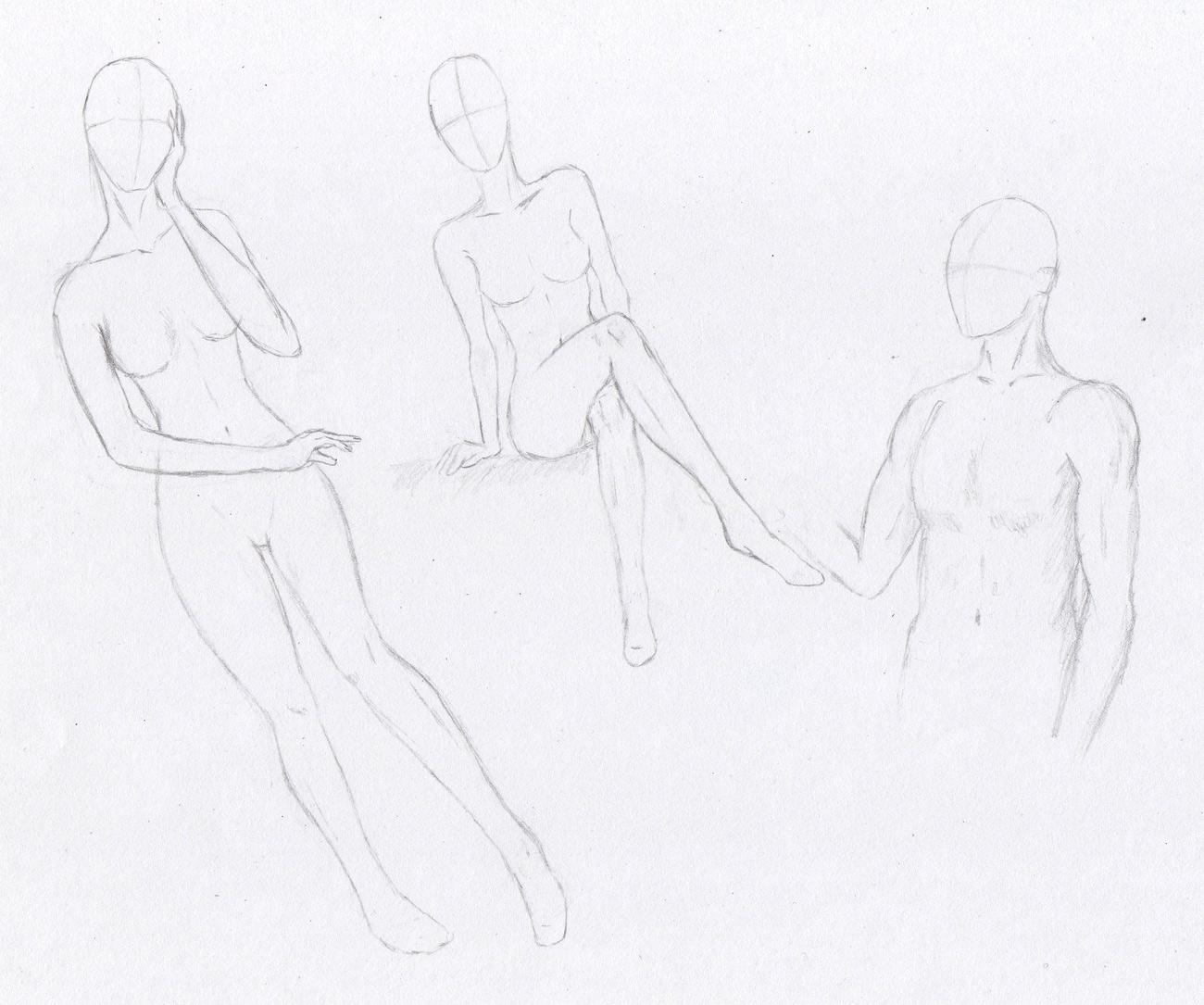 Zeichnungen - Galerie - Skizzen