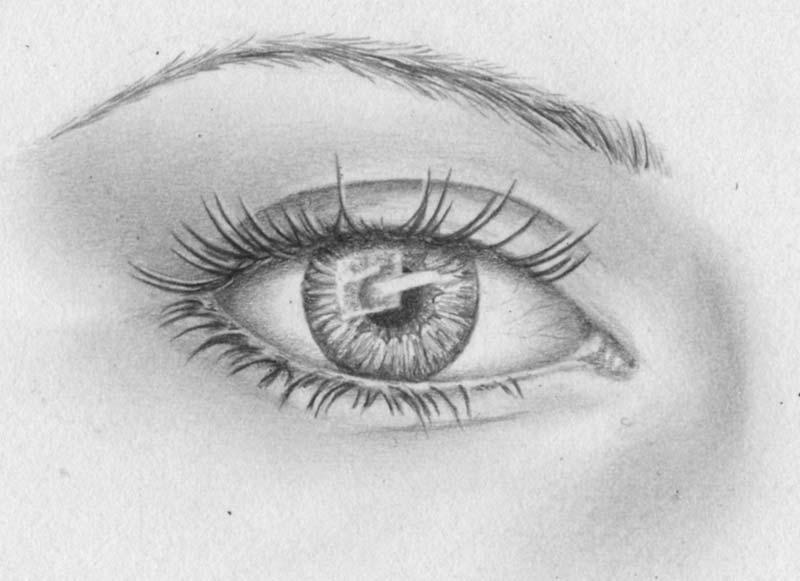 strahlende augen pupille iris zeichnen lernen zeichenkurs. Black Bedroom Furniture Sets. Home Design Ideas
