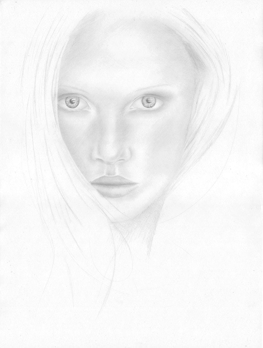 Gesicht Auge Mund Nase Portait Zeichnen Lernen