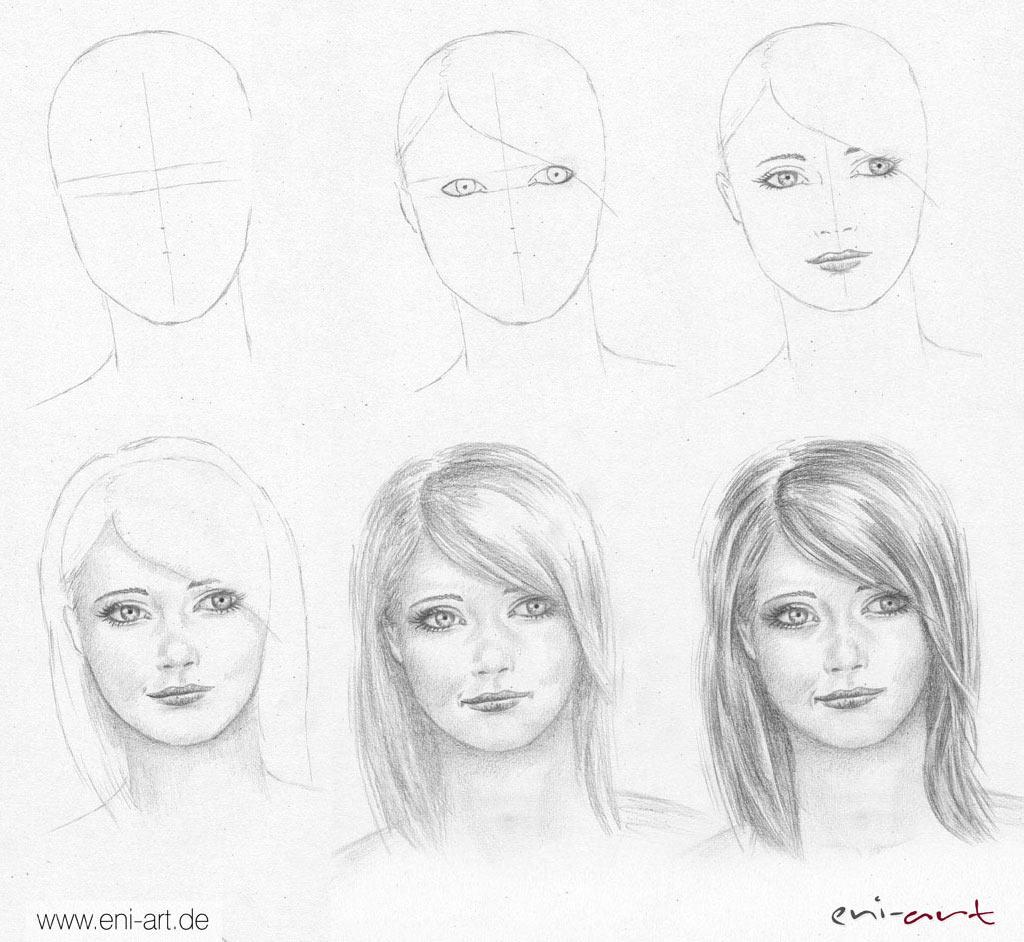Kurze haare zeichnen lernen