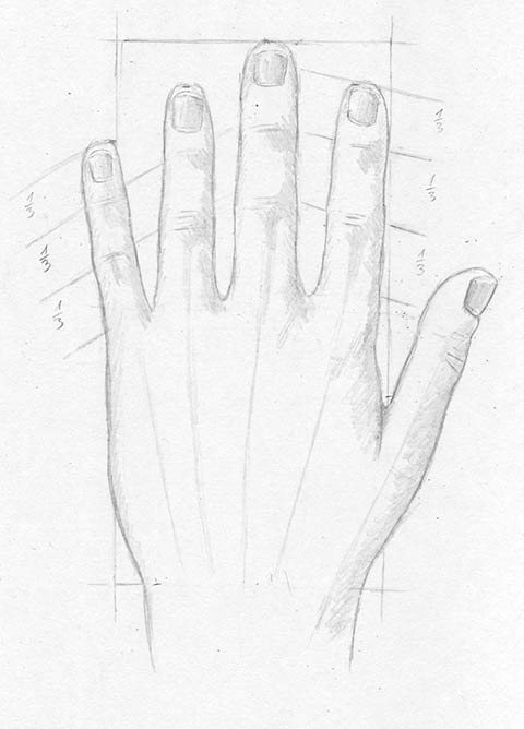 Zeichenkurs Hand Und Finger Zeichnen Lernen