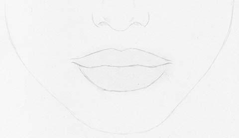 lippenstift zeichnen