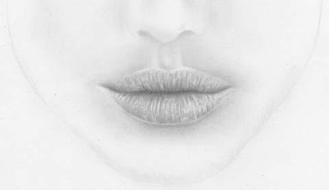 realistische lippen und weiblichen mund zeichnen lernen. Black Bedroom Furniture Sets. Home Design Ideas