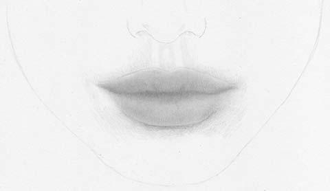 lippen zeichnen mund lernen