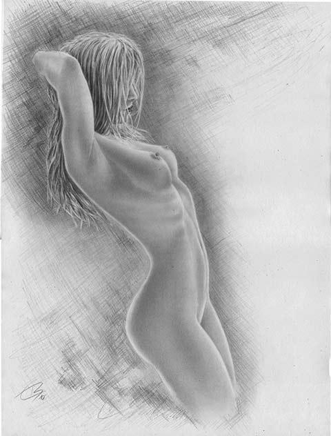 möchte mich nackt zeigen